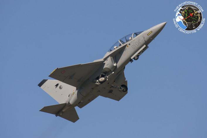 Legend T-346A high perf takeoff