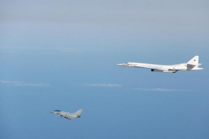 Tu-160 intercepted