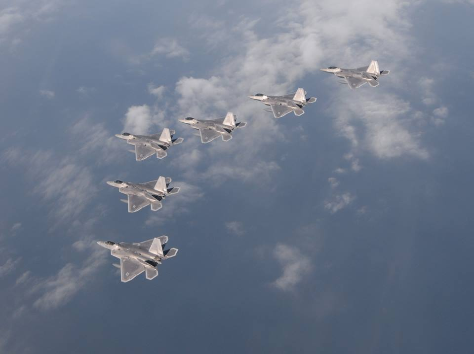 air force f 22 fighter jet with F 22 15 Ship Formation Tyndall Afb on Bae Systems Describes Ew Capabilities further Kazakh Air And Air Defence Forces Su 27s furthermore Photos Day F 35s Helmet Mounted Display System moreover Pak Fa  D0 BF D0 B0 D0 BA  D1 84 D0 B0 T 50 Close Photos also F22.