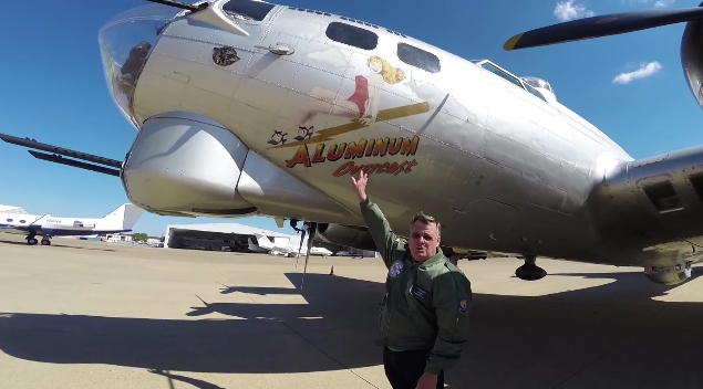 Enjoy a guided walkaround tour of the iconic B-17 Flying Fortress bomber