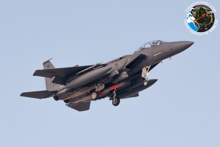 F-15E nuke landing