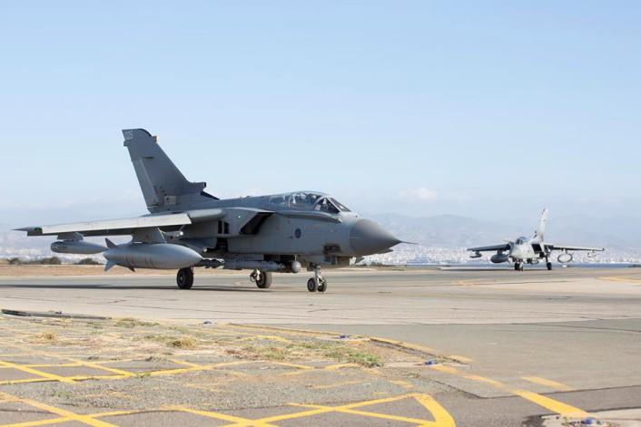 RAF Marham depart Syria