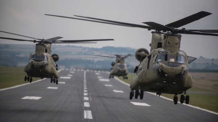 New CH-47Fs