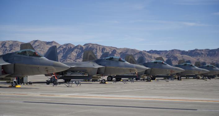 Tyndall's F-22s