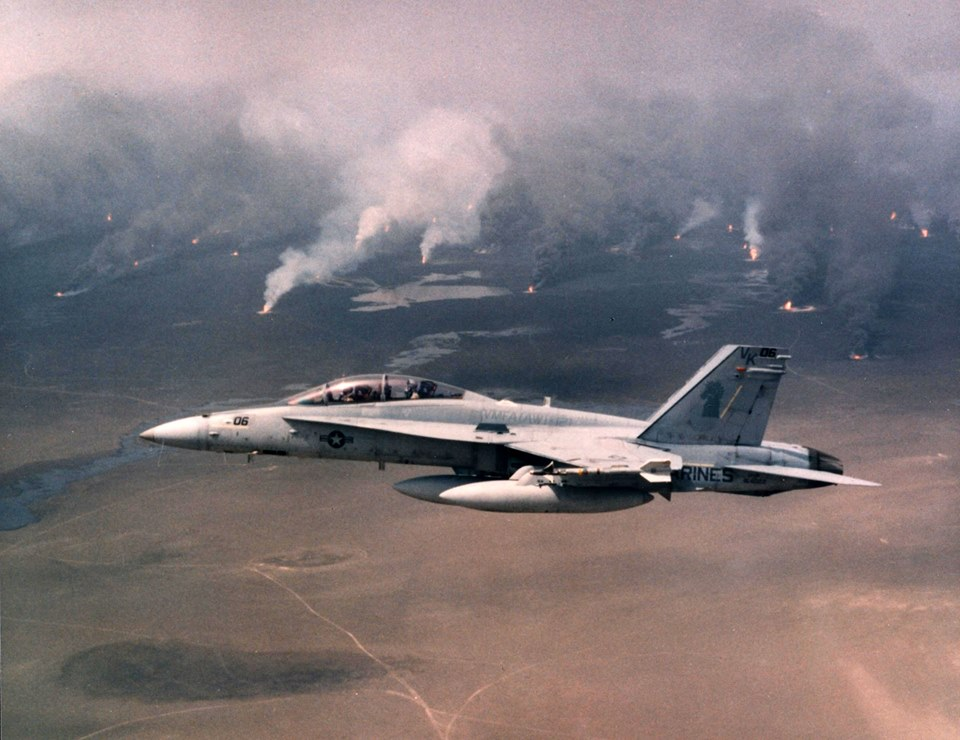 The Aviationist » Gulf War 25th Anniversary Special: the ...