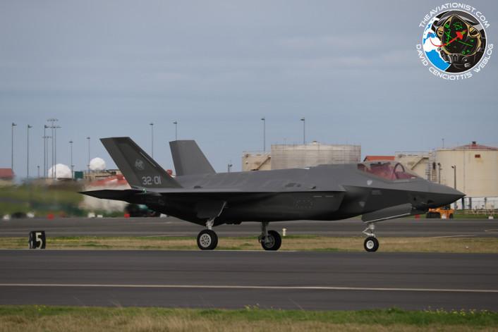 F-35 ground