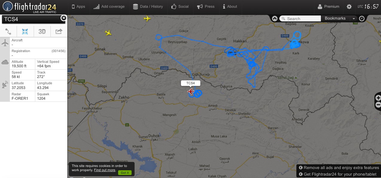 IRAQ - Fight on Islamic State: News #2 - Page 5 TuAF-UAV-over-border