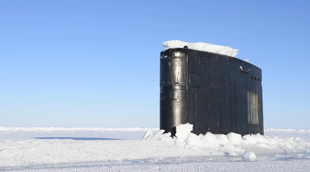 Image result for submarine breaking ice images