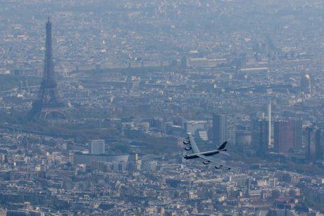 B-52 over Paris