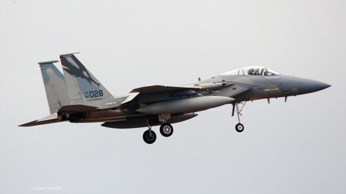 F-15 Iceland land