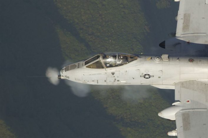 A-10 with F-16s Osan AFB 3