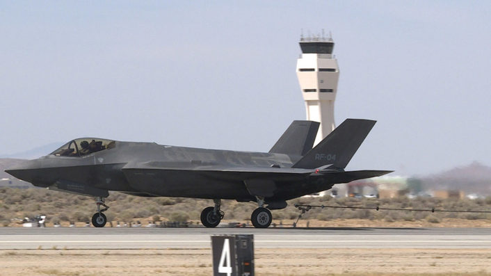 F-35A tailhook tests