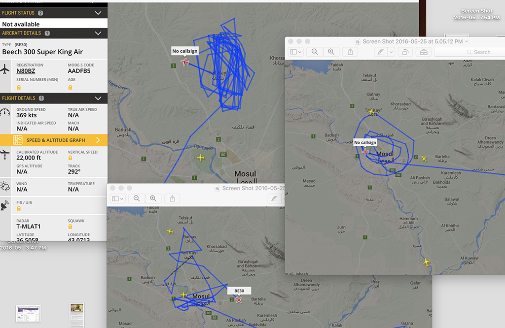 Flightradar24 Exposes The Presence Of U S And Allied Isr Planes Operating Over Daesh Stronghold In Iraq