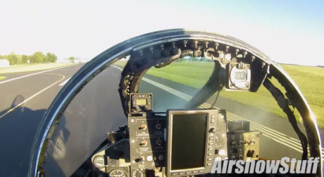 Take a seat in the cockpit of one of the last USAF F-4 Phantoms as it arrives at Oshkosh airshow