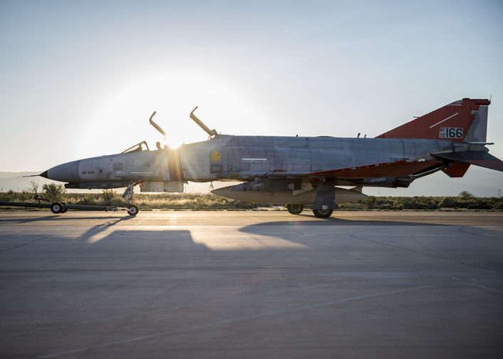 QF-4 returns safely 2