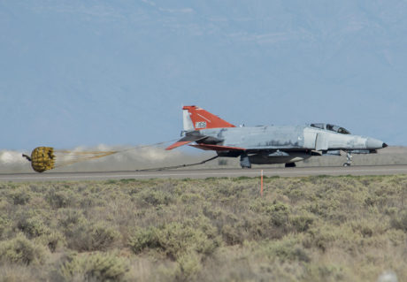 QF-4 returns safely