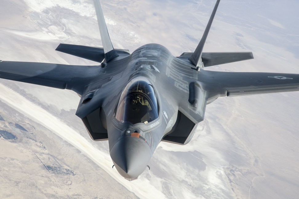 US grounds most expensive fighter jets