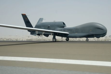U.S. Air Force RQ-4 Global Hawk drone flew over Ukraine with transponder turned on for everyone to see