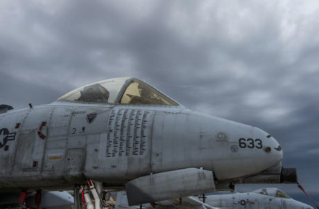 This photo of an A-10 sporting hundreds of bomb markings proves the Warthog has been pretty active fighting Daesh!