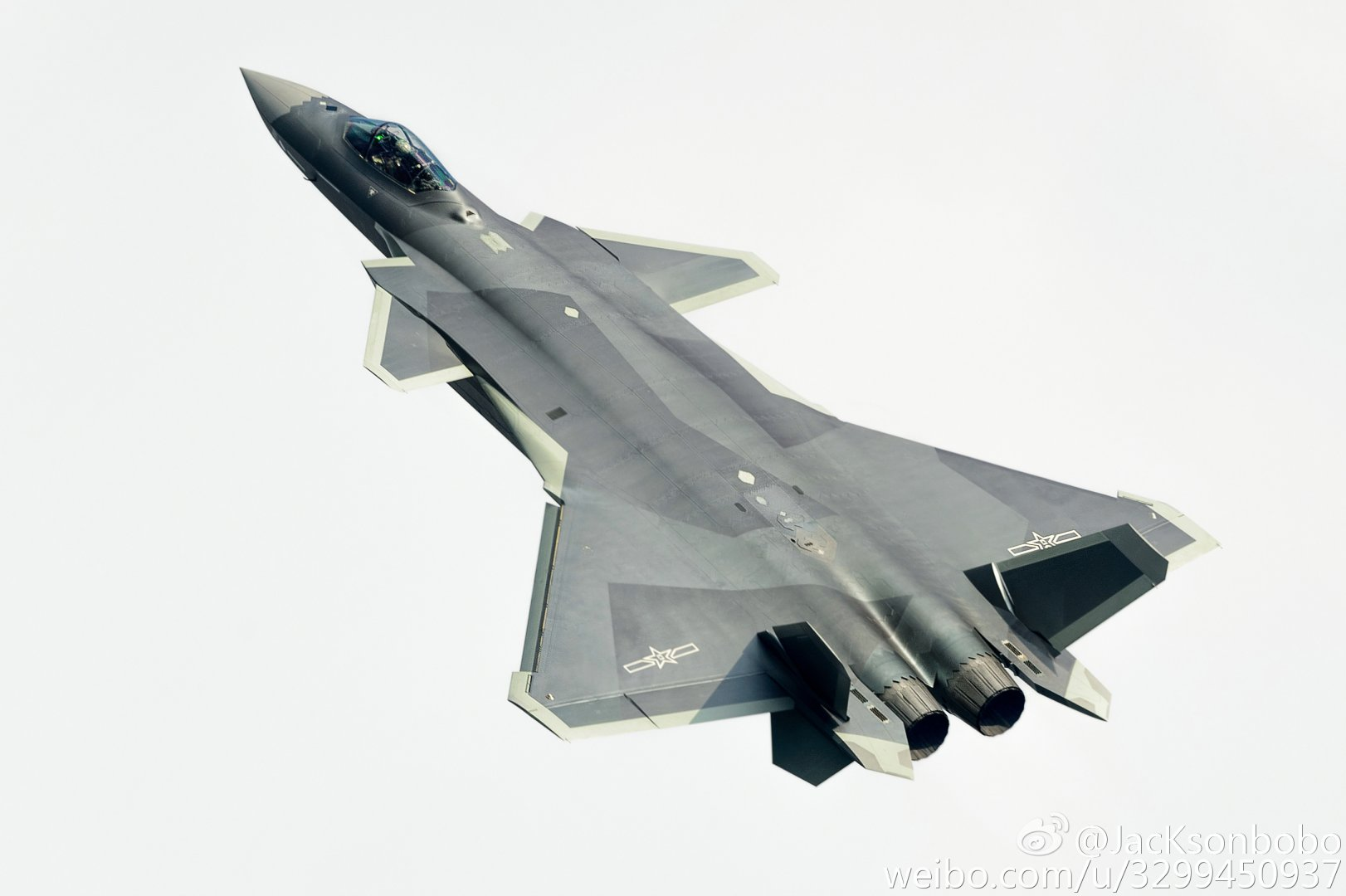 "The Aviationist » China's new J-20 ""Mighty Dragon"" stealth ..."