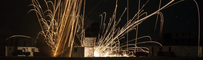 Urban Close Air Support Day & Night