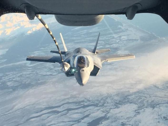 F-35飞越太平洋需要在空中加多少次油 - 晨枫 - 晨枫小苑