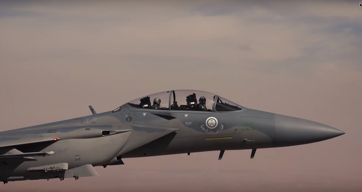 Up Close And Personal With The First Saudi F 15SA Most Advanced Eagle Ever Built