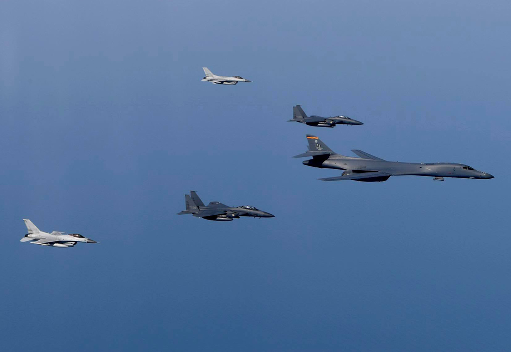 Chinese officials warned USA bomber aircraft in East China Sea