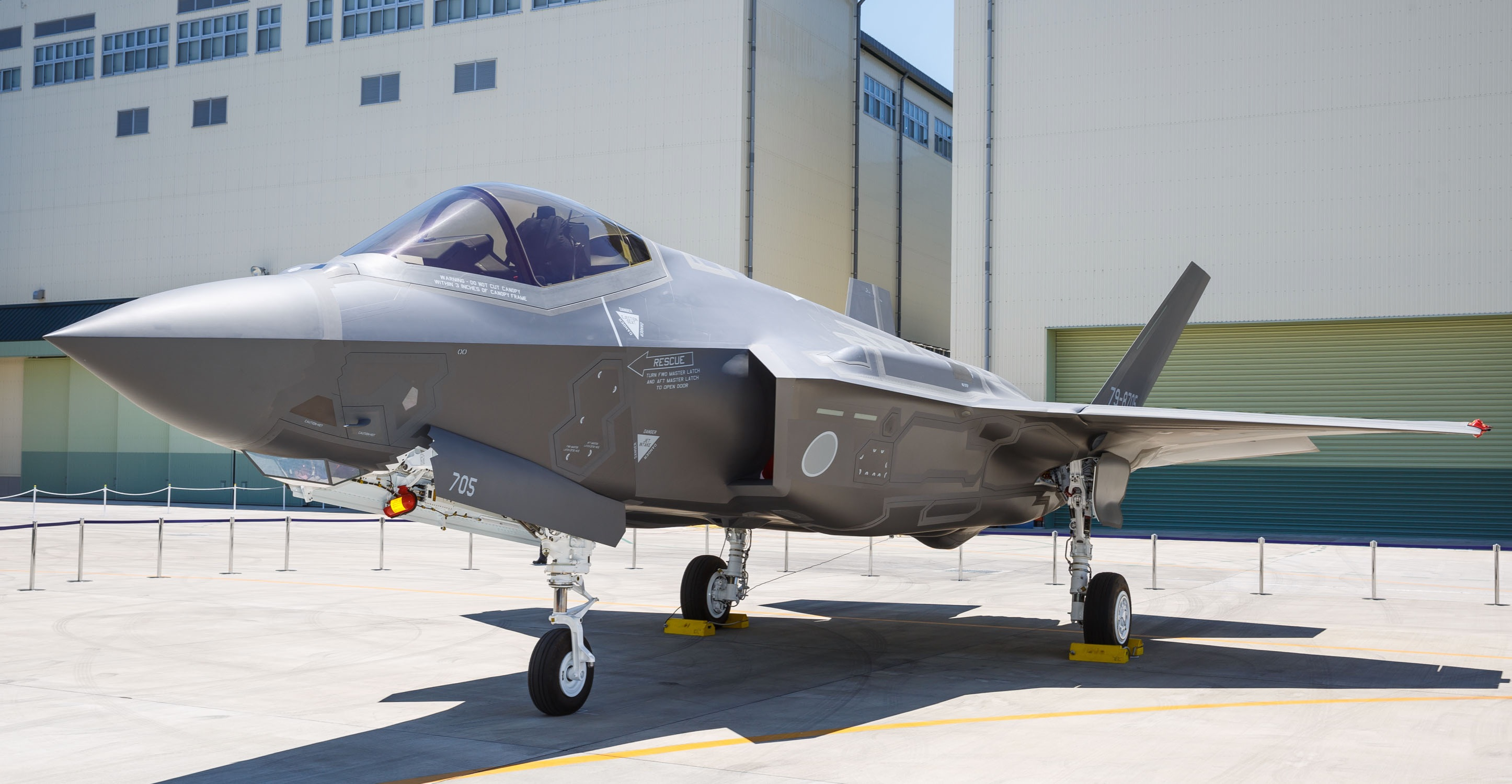 Mitsubishi completes construction of first F-35A
