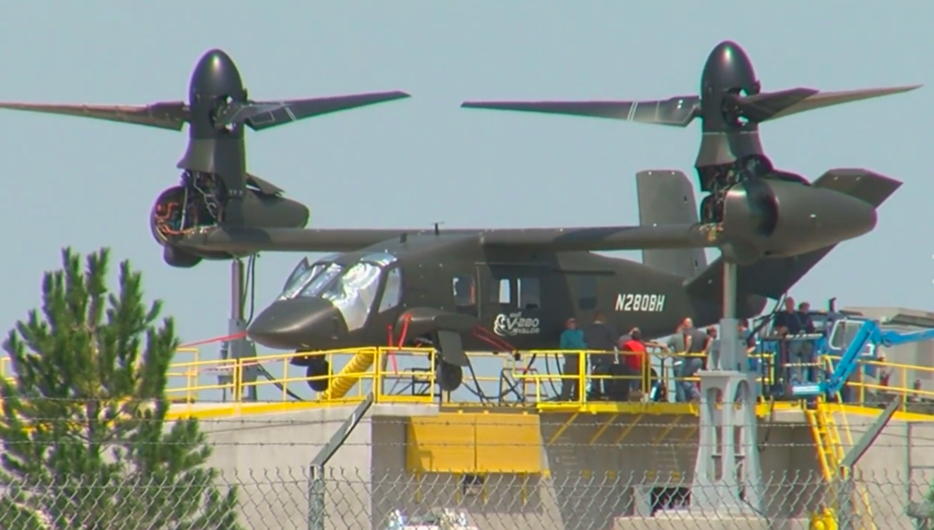 Here Are The First Images Of The First Bell V-280 Valor Next-Generation Tilt-Rotor Aircraft Prototype