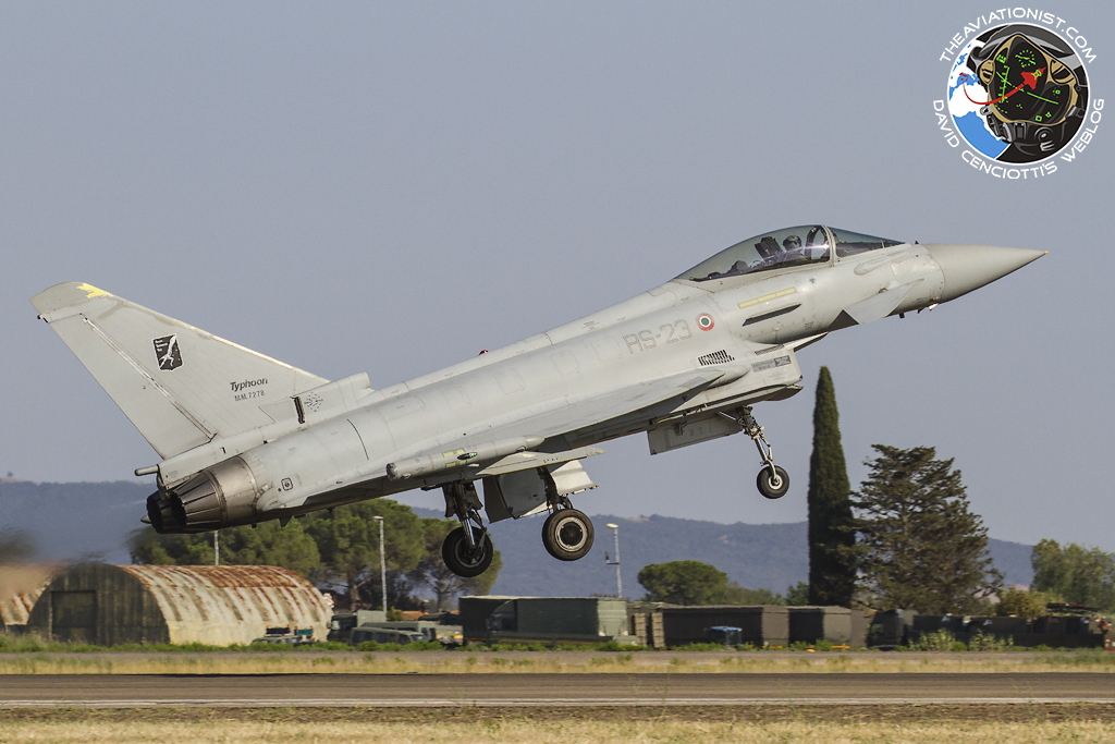 Eurofighter pilot dies while performing in airshow after crashing at sea