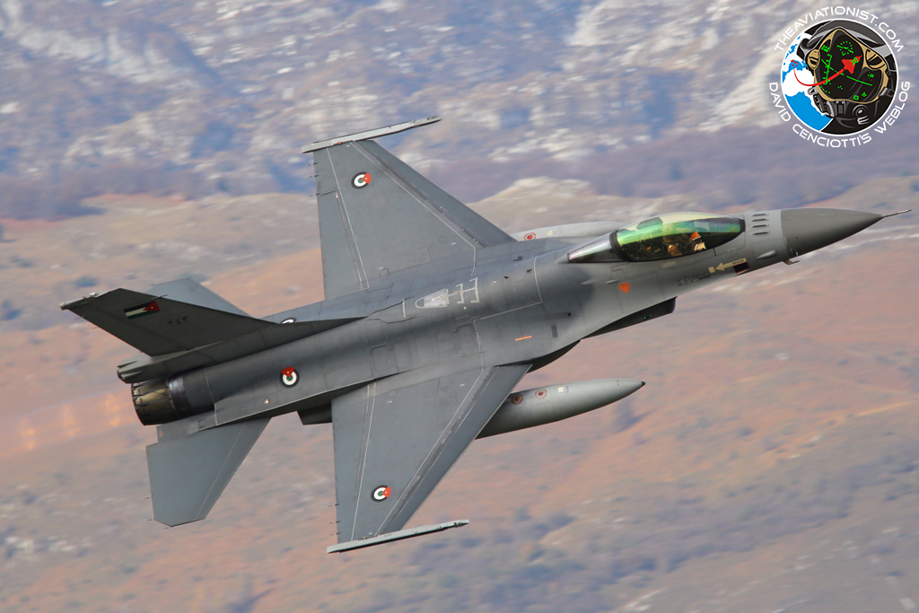 1d7a94b14bb7 Another Batch Of Six Ex-Dutch F-16 Jets Delivered To The Royal Jordanian  Air Force