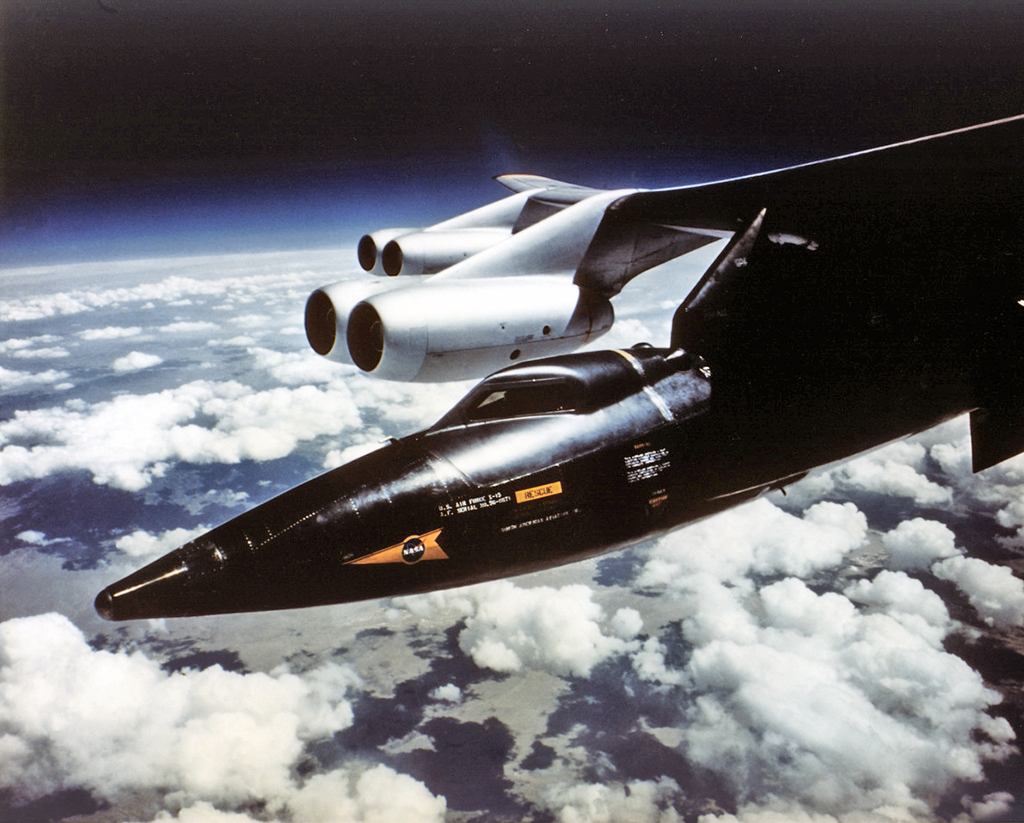The Aviationist » That Time An X-15 Rocket Plane Entered ...  The Aviationist...