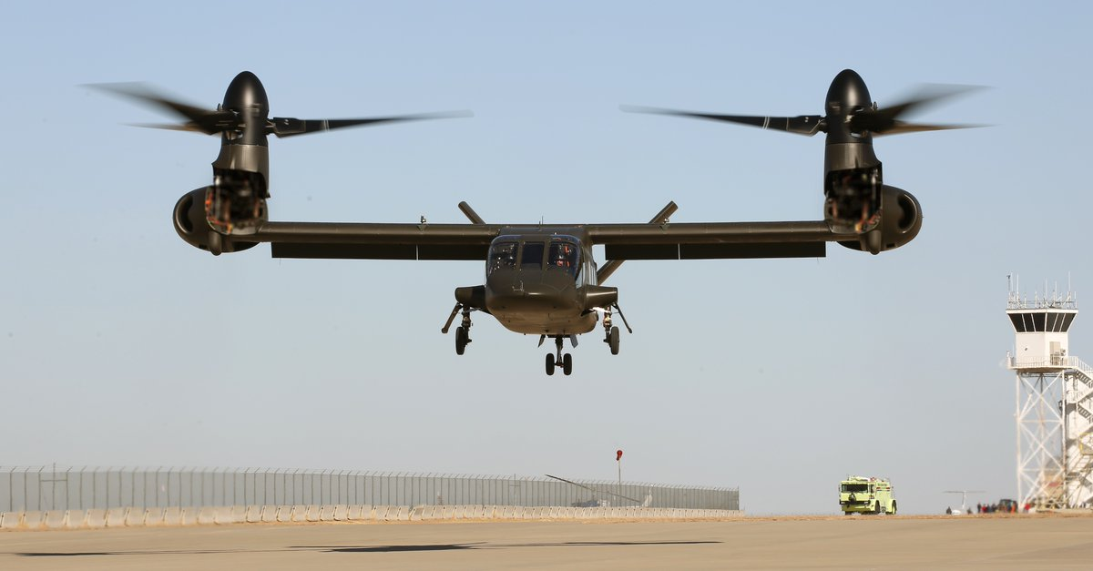 Bell Helicopter's V-280 Tiltrotor Takes First Flight