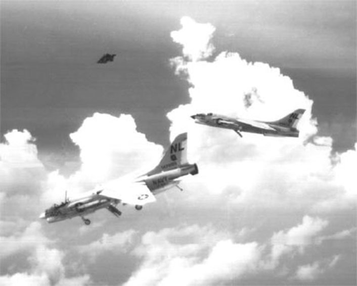 Photos Of Pilot Ejecting From an F-8D Over the South China Sea in 1965 Became Some Of The Most Famous Crusader Shots Of The Vietnam War