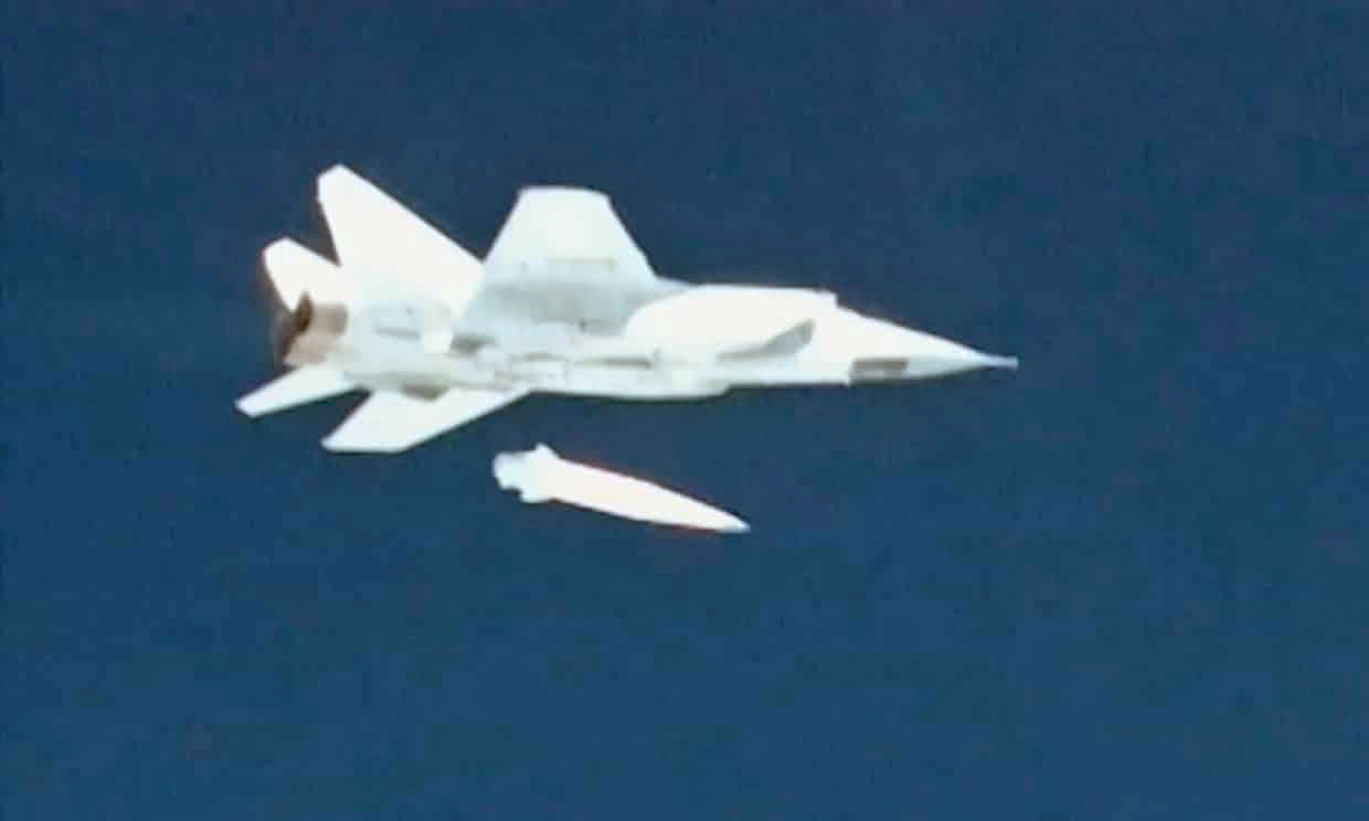 Image result for Russia-test-and-fires-Hypersonic-Kinzhal-Missile