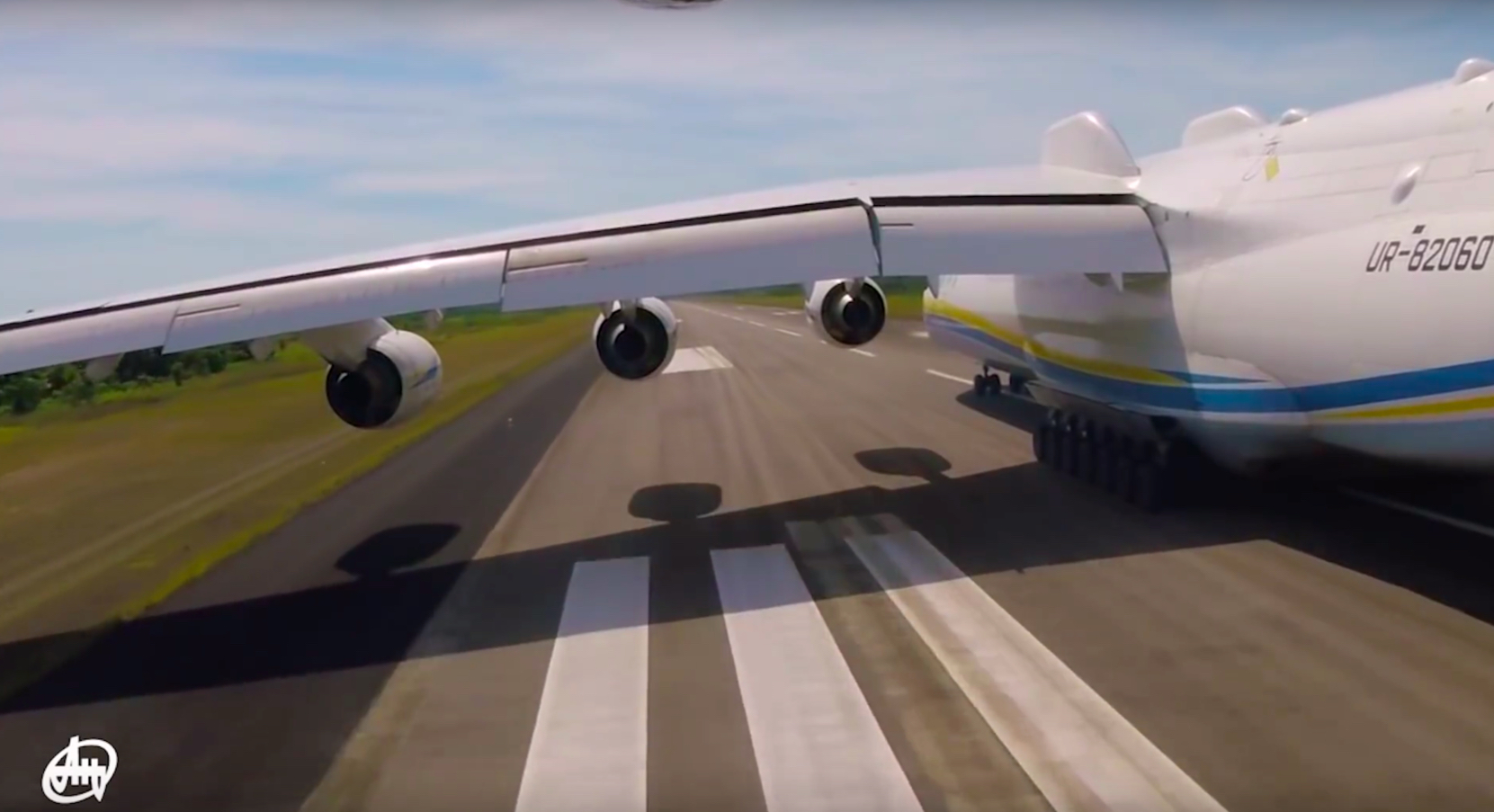 "Watch This Crazy Cool Video Of The An-225 ""Mriya"", The World's Largest  Airplane, Taken From A Very Unique Point Of View – The Aviationist"