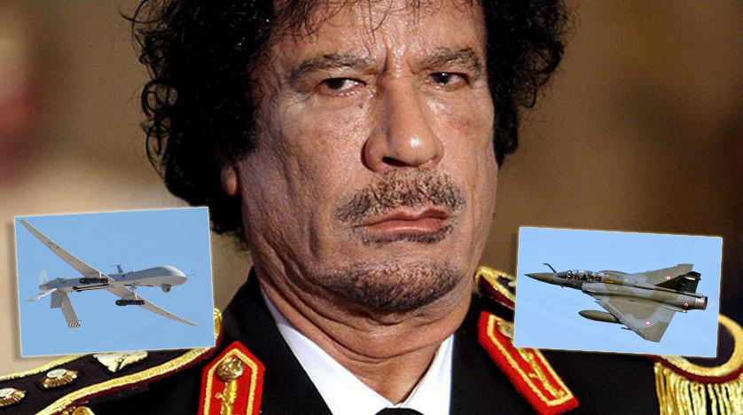 The Air Strike That Led To The Capture (And Subsequent Killing) Of Muammar Gaddafi 10 Years Ago Today